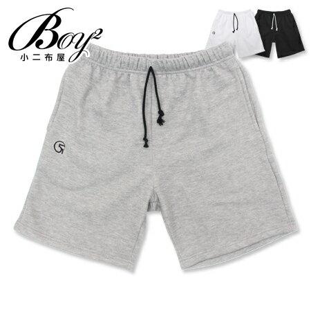 ☆BOY-2☆【NC2856】棉褲 素面休閒五分運動短褲 0