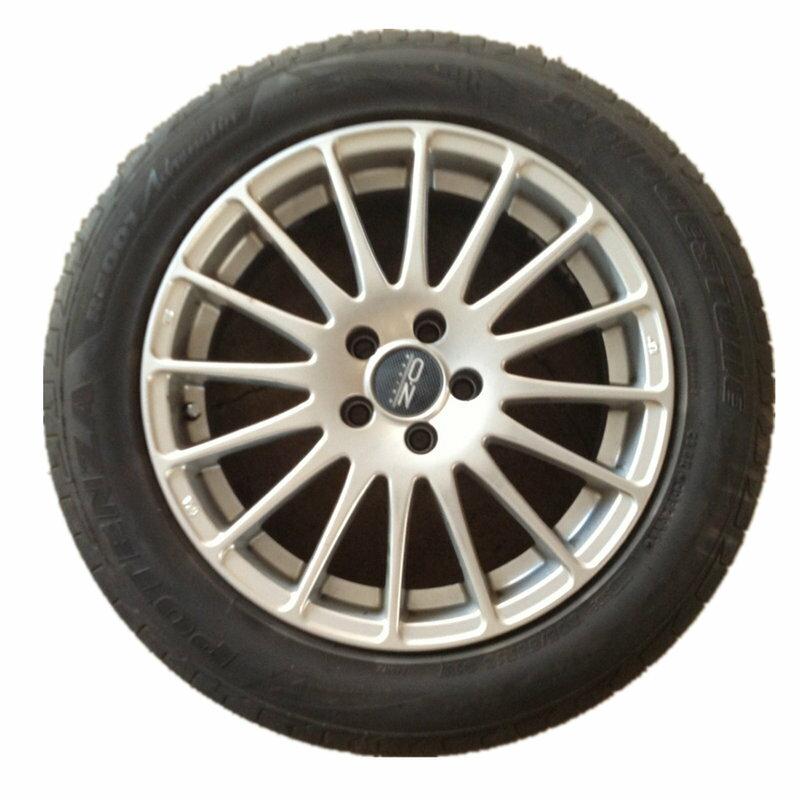 [第一佳 水族寵物] 16 吋台製輪框 5孔100,中心軸 42,含普利司通 RE001 205 55 R16 輪胎一組4顆