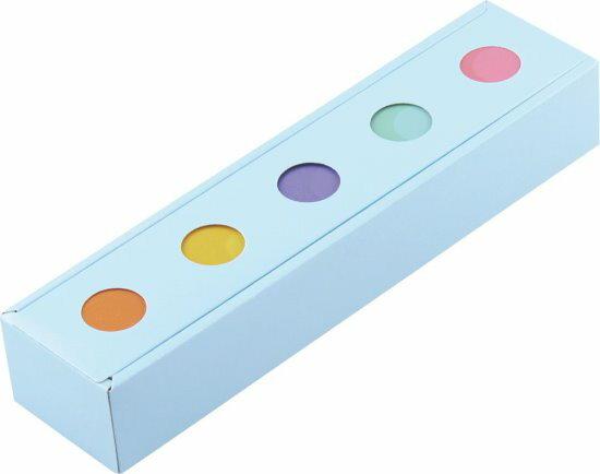 【零售量】簡約幸福 /5入盒【粉藍】 / 50個