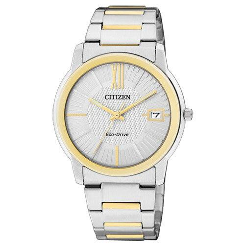 CITIZEN星辰FE6014-59A雙色都會簡約光動能女錶/白面32mm