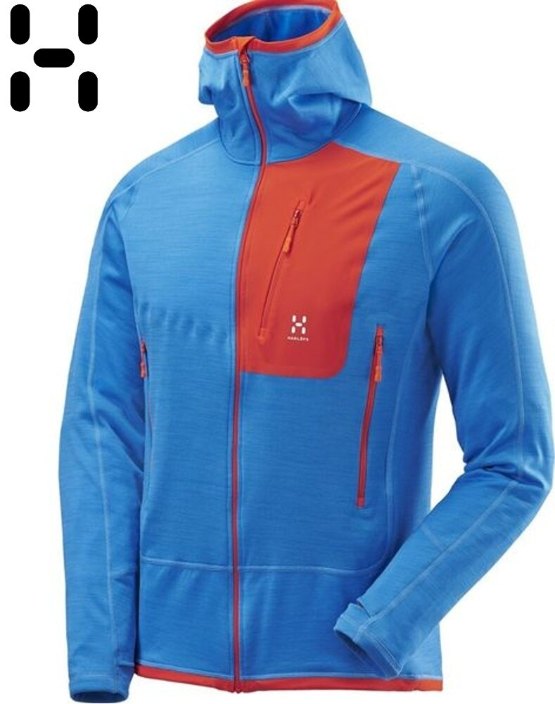 HAGLOFS 彈性保暖刷毛外套/PS保暖中層衣 Triton pro 男款 Polartec Power Stretch 602916 2K9 狂風藍
