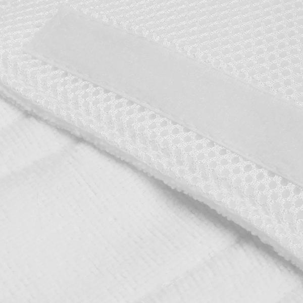 4pcs White Replacement Pads For Shark Pocket Steam Mop 4