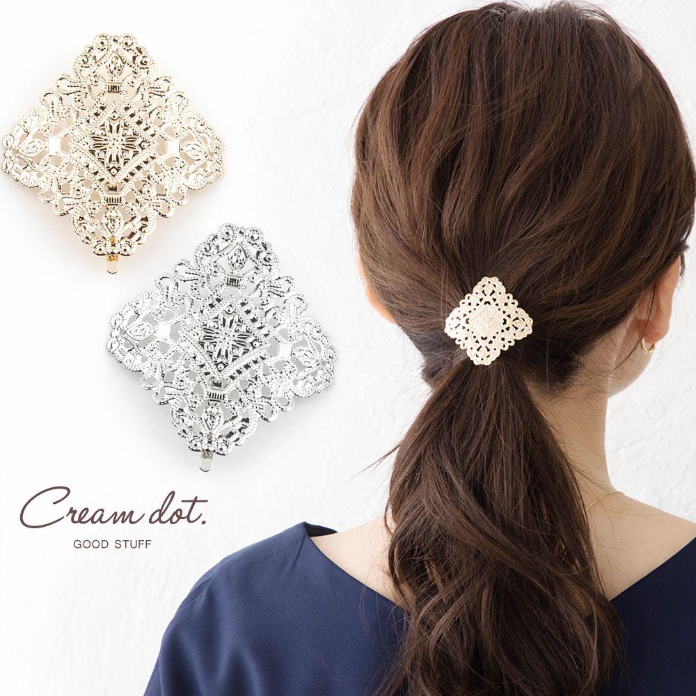 日本CREAM DOT  /  小奢華雕花髮叉 髮簪  /  a03655  /  日本必買 日本樂天直送(1090) 0