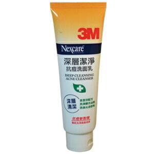 3M Nexcare 深層潔淨 抗痘 洗面乳 100g