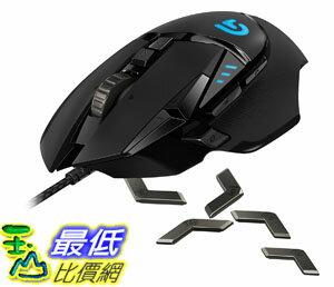 [107美國直購] Logitech 羅技 G502 超精準自調控遊戲滑鼠