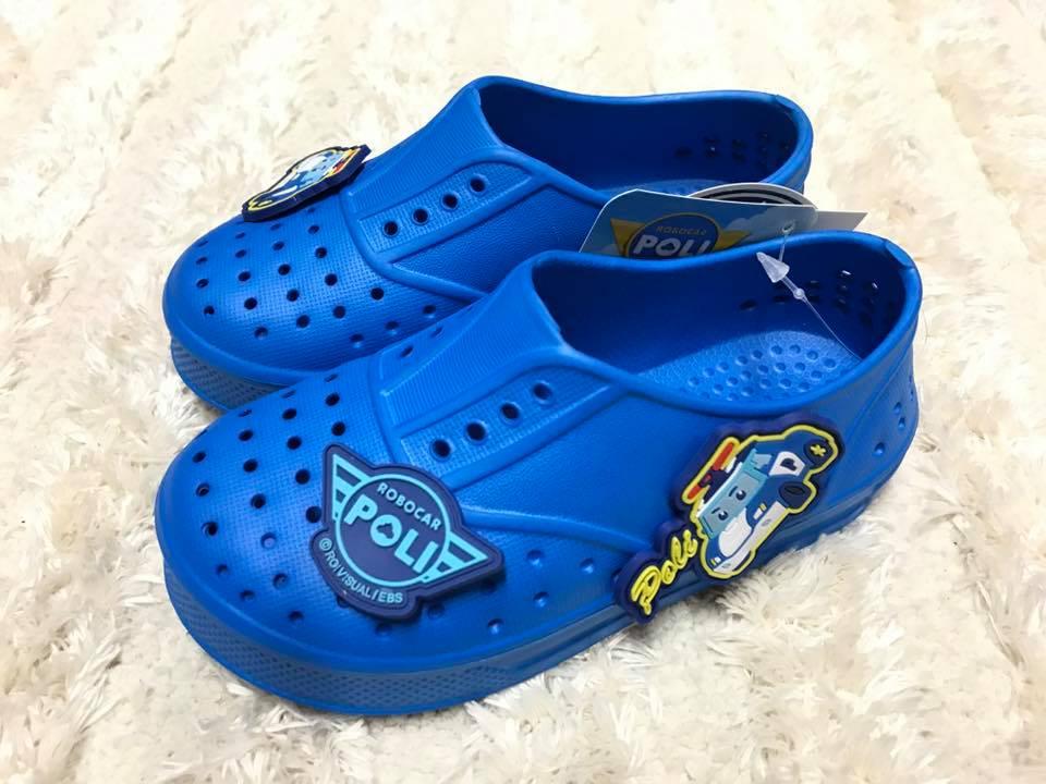 【Jolove】POLI波力卡通童鞋/洞洞鞋/防水鞋81616