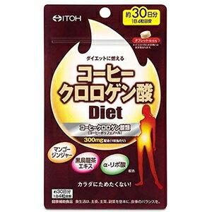 年節必備  日本(產地:大阪府)   ITOH 井藤  咖啡綠原酸 Diet 酵素  120粒  30天分  咖啡甜食愛好者必備