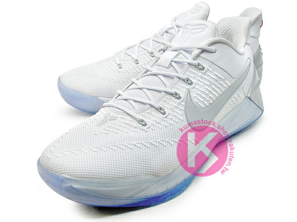 2016-2017 NBA 湖人球星 小飛俠 最新代言鞋款 NIKE KOBE A.D. AD 12 EP CHROME 低筒 全白 銀勾 Kobe Bryant 籃球鞋 LUNARLON + ZOOM AIR 避震 ENGINEERED MESH 鞋面科技 搭載 死後重生 全新世代 (852427-110) 0117 1