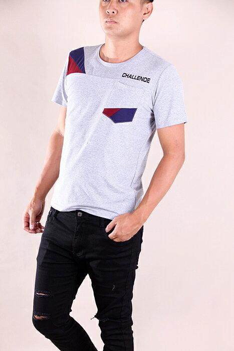 【CS衣舖 】韓系 合身版 萊卡彈力 短袖T恤 3107 2