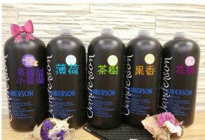 SANDERSON花香薄荷茶樹果香精油洗髮精2000ml『121婦嬰用品館』