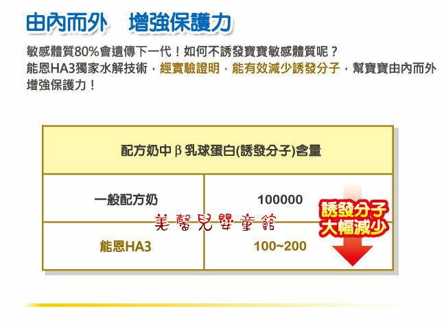 【雙12 SUPER SALE整點特賣12 / 6 15:00】雀巢 Nestle - 能恩HA3(水解蛋白配方)奶粉800g「1~3歲」X17罐【12,000 現折1,200元】 1