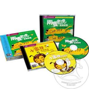 【迷你馬】風車 兩隻老虎歡樂歌謠V.S小蜜蜂歡樂歌謠(雙CD) 4714426100607