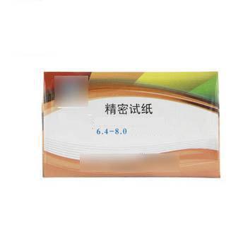 【 PH精密試-6個/組】 PH精密試紙PH值6.4-8.0酸堿值測定ph試紙精密-5170701