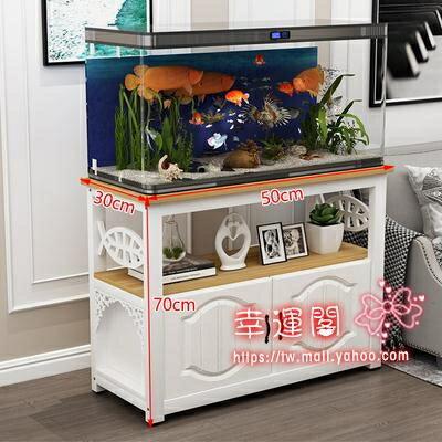 魚缸架 魚缸櫃子架子放魚缸的架子魚缸底座底櫃定做承重客廳簡易鐵藝小型【天天特賣工廠店】