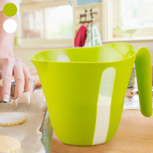多功能量杯 雙刻度 公克 毫升 1000ml 烘培 廚房量杯【SV8236】快樂生活網