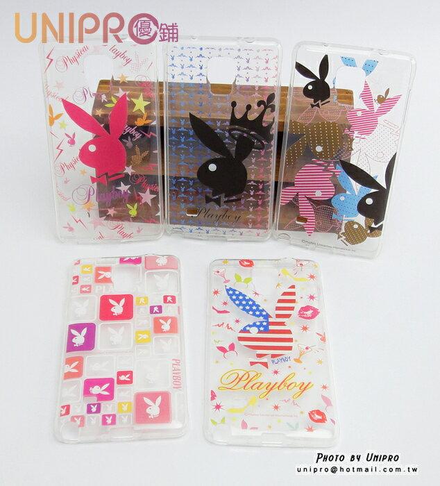 【UNIPRO】Samsung Note4 PLAYBOY 兔子 滿版 透明 TPU 軟殼 手機殼 保護套