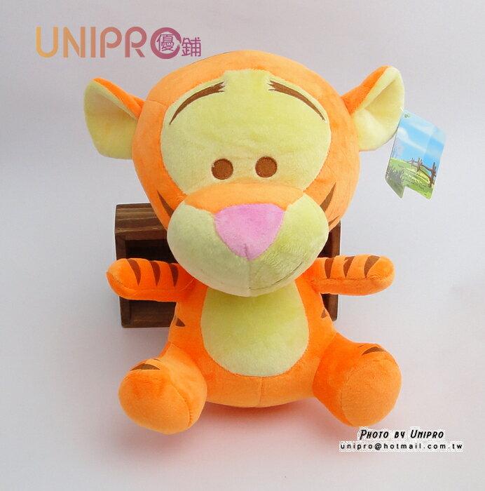 【UNIPRO】迪士尼 小熊維尼 的朋友 Q版 跳跳虎 玩偶 造型 布偶 Tiger 約25公分