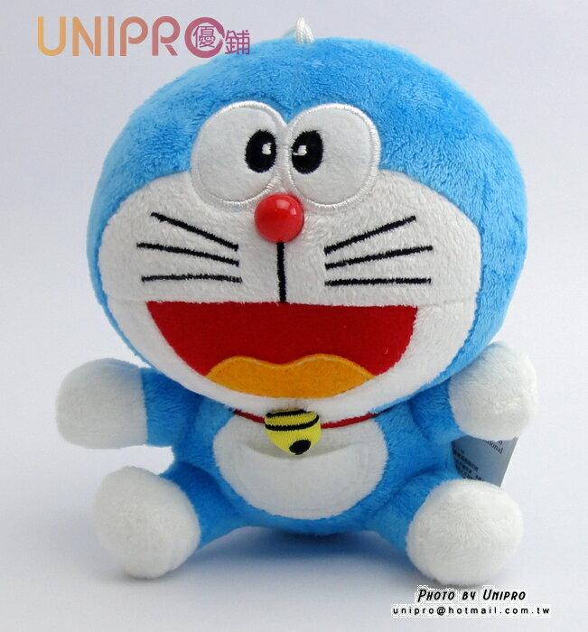 【UNIPRO】哆啦A夢 小叮噹 Doraemon 6吋 坐姿 絨毛玩偶 娃娃 小吊飾 禮物