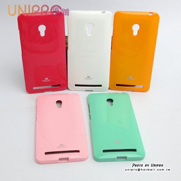 【UNIPRO】MERCURY華碩ASUSZenFone6糖果色TPU亮粉軟矽膠手機保護套手機殼A60