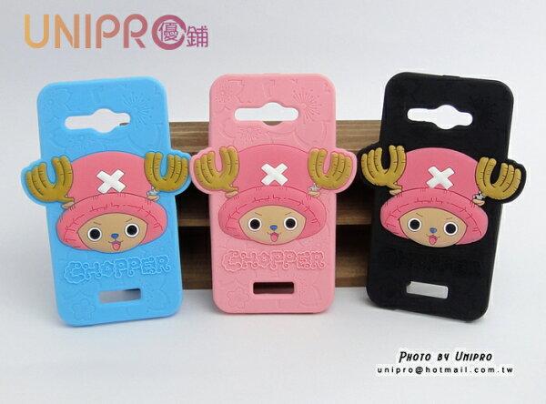 【UNIPRO】HTCButterflyS蝴蝶蝴蝶S海賊王航海王One喬巴矽膠軟殼手機殼保護套