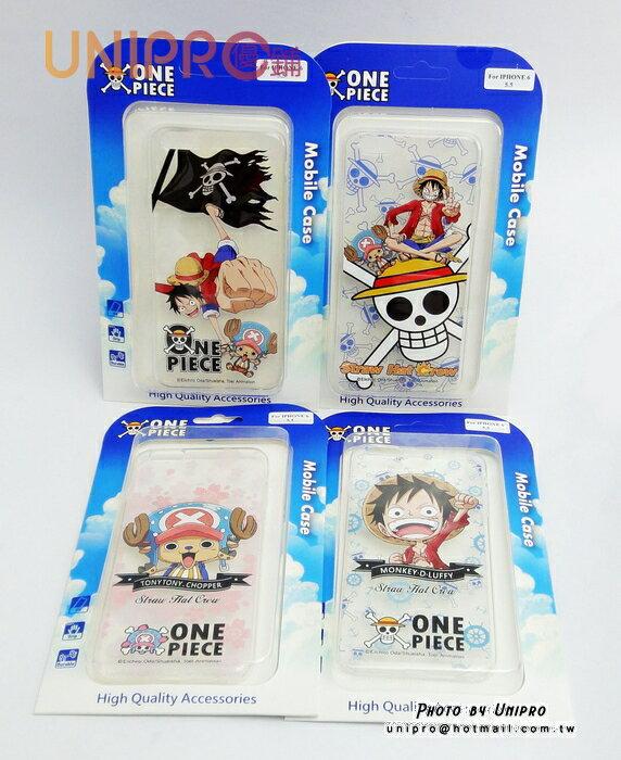 【UNIPRO】iPhone 6 5.5吋 航海王 One Piece 透明 軟殼 TPU 手機殼 海賊王 i6 保護套