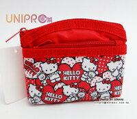 凱蒂貓週邊商品推薦到UNIPRO 三麗鷗授權 Hello Kitty 40th 紀念版 雙層零錢包 小包 隨身包