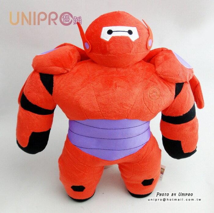 UNIPRO 迪士尼大英雄天團 Big Hero6 杯麵 2.0 鋼鐵紅 BayMax 正版12吋 絨毛玩偶 娃娃