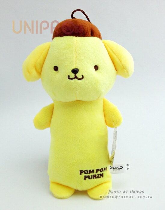 【UNIPRO】迪士尼 三麗鷗 sanrio 布丁狗 7吋 絨毛玩偶 長抱枕造型 娃娃 布偶 吊飾