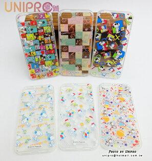 【UNIPRO】iPhone55S史努比SNOOPY透明TPU手機殼保護套