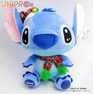 【UNIPRO】迪士尼 史迪奇 Stitch 星際寶貝 聖誕 圍巾 X\
