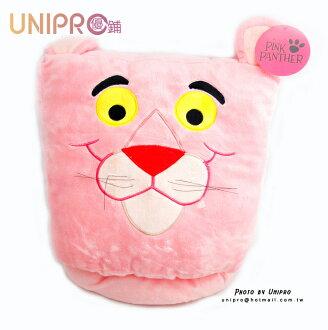 【UNIPRO】正版授權 頑皮豹 粉紅豹 Pink Panther 拖鞋造型玩偶 娃娃 暖手枕 暖腳墊