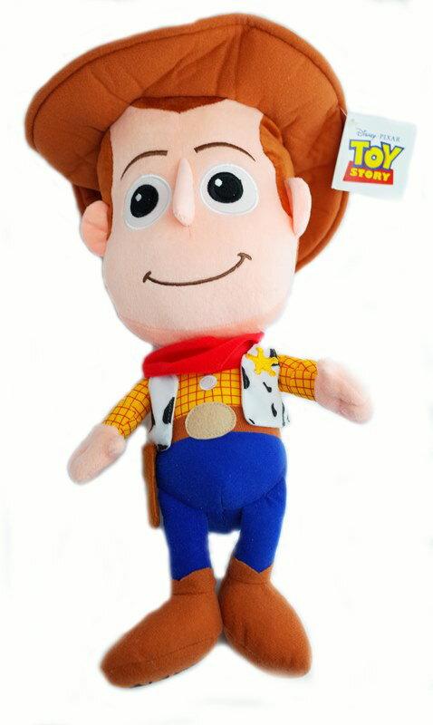 UNIPRO 迪士尼正版授權 玩具總動員 Toy Story 胡迪 Woody 警長 Q版娃娃 玩偶 布偶 12吋