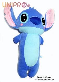 【UNIPRO】迪士尼星際寶貝Q版史迪奇STITCH大型長枕抱枕絨毛玩偶正版授權