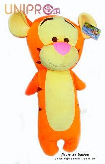 【UNIPRO】迪士尼 Pooh 小熊維尼 的朋友 跳跳虎 Tigger 造型長枕 午安枕 抱枕
