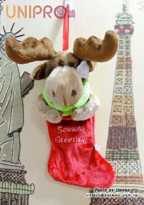 UNIPRO 聖誕吊飾 麋鹿 馴鹿 小白熊 許願襪 聖誕襪 Christmas 聖誕節 耶誕節 可愛 玩偶 絨毛娃娃
