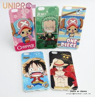 【UNIPRO】iPhone65.5吋航海王OnePiece手機殼TPU保護套海賊王魯夫索隆