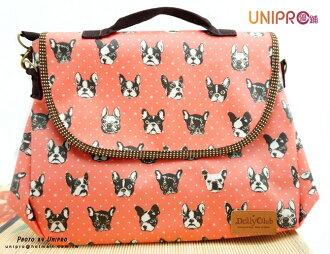 【UNIPRO】 繽紛貓頭鷹 防水 後背包 肩背包 斜背包 手提包3Way MIT 台灣製