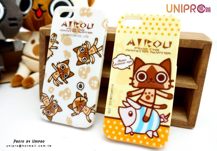 【UNIPRO】iPhone5 5S 艾路貓 AIROU TPU 亮粉 超Q貓咪 手機殼 保護套