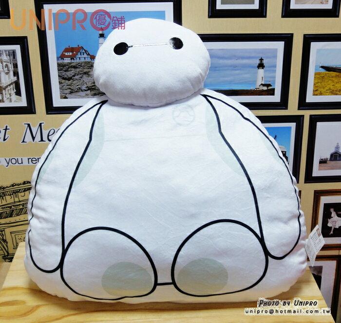 【UNIPRO】大英雄天團 Big Hero6 杯麵 BayMax 造型 靠枕 坐墊 抱枕 迪士尼正版授權