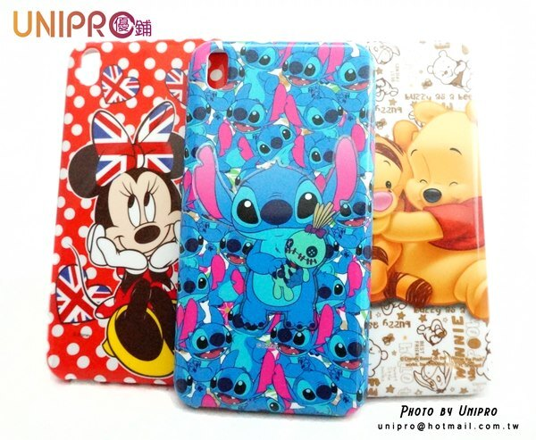 【UNIPRO】HTC Desire 816 迪士尼卡通手機殼 史迪奇 小熊維尼與跳跳虎 米妮 保護套 TPU軟殼