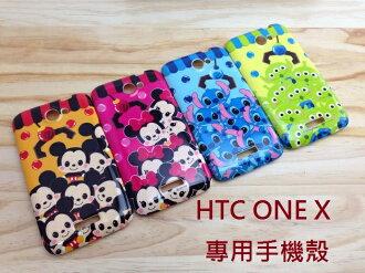 UNIPRO HTC ONE X 迪士尼 米奇 米妮 三眼怪 史迪奇 手機殼 軟殼