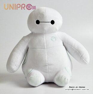 【UNIPRO】大英雄天團BigHero6坐姿杯麵絨毛玩偶娃娃baymax迪士尼正版授權禮物