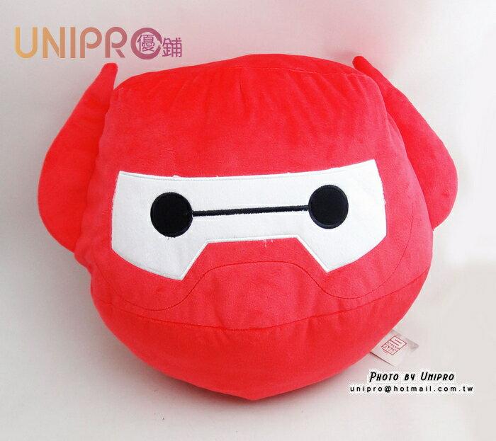 【UNIPRO】大英雄天團 Big Hero6 杯麵 2.0 鋼鐵紅 BayMax 暖手枕 抱枕 靠枕 迪士尼正版受