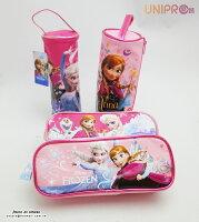 【UNIPRO】迪士尼 冰雪奇緣 FROZEN  ELSA ANNA 雪寶 四方 圓筒 筆袋 萬用包 鉛筆盒 開學用品