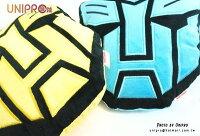 【UNIPRO】變形金剛 造型抱枕 大黃蜂 柯博文 頭型 午安枕 TRANSFORMER