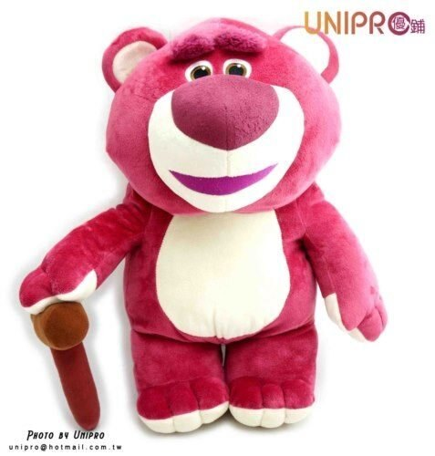 【UNIPRO】迪士尼 玩具總動員 Toy Story 熊抱哥 絨毛娃娃 玩偶 草莓香味