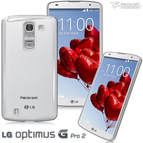 【UNIPRO】Metal-Slim LG Optimus G Pro2 PC透明系列新型保護殼