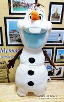 【UNIPRO】冰雪奇緣 FROZEN 雪寶 Olaf 18吋 長枕 抱枕 絨毛娃娃 玩偶