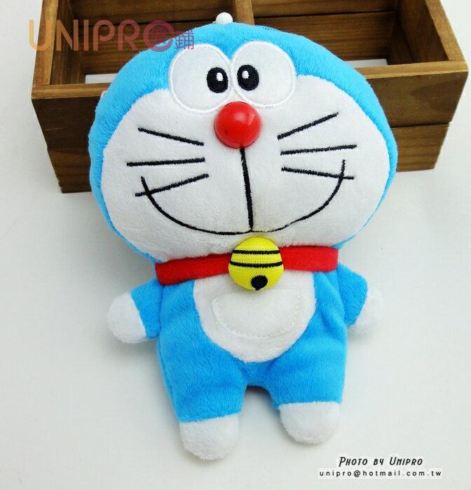 【UNIPRO】小叮噹 Doraemon 哆啦A夢 造型 零錢包 證件夾 2Way 伸縮票卡夾 卡套