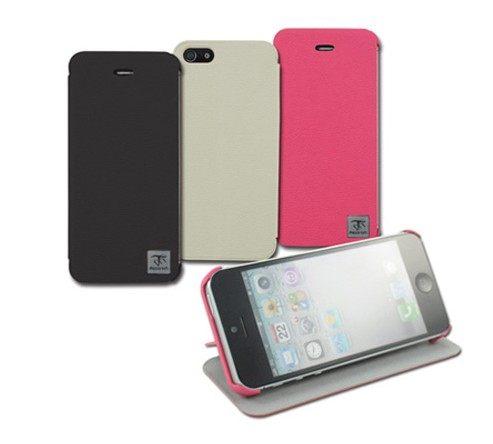 UNIPRO【i5133】Metal-Slim Apple iPhone 5 5S iPhone5 超薄 0.88mm 荔枝紋站立側掀皮套 保護套 特價